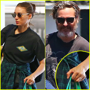 Rooney Mara's Diamond Ring Sparks Joaquin Phoenix Engagement Rumors!