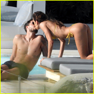 Izabel Goulart & Fiance Kevin Trapp Pack on the PDA During a Romantic Mykonos Getaway!