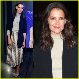 Katie Holmes Steps Out for 'Serendipity' Screening in NYC