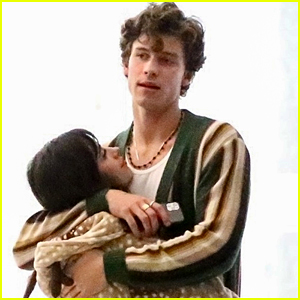 Camila Cabello & Shawn Mendes Cuddle Up Together While Visiting A Friend