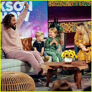 Kelly Clarkson's Kids Interview Jason Momoa - Watch the Cute Video!