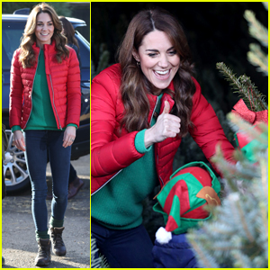 Duchess Kate Middleton Bundles Up While Taking Over Family Action Patronage From Queen Elizabeth