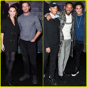 Armie Hammer, Will Smith & Sons Celebrate 'Bad Boys For Life' at Hollywood Premiere!