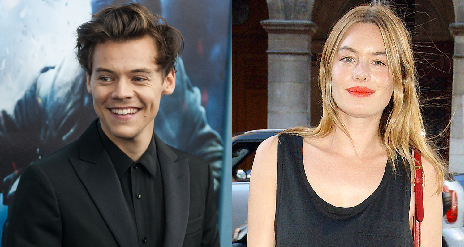 Harry Styles Amp Victorias Secret Model Camille Rowe Are