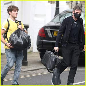Froy Gutierrez Spotted in London with Richard Madden ...
