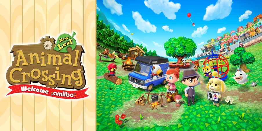 Image result for animal crossing new leaf nintendo