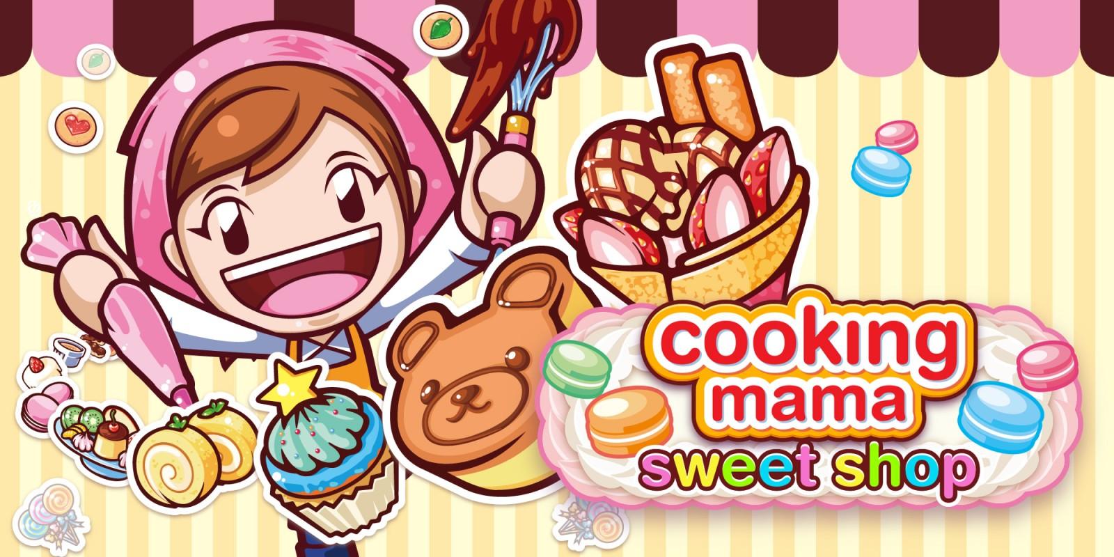 Cooking Mama Sweet Shop Nintendo 3DS Games Nintendo