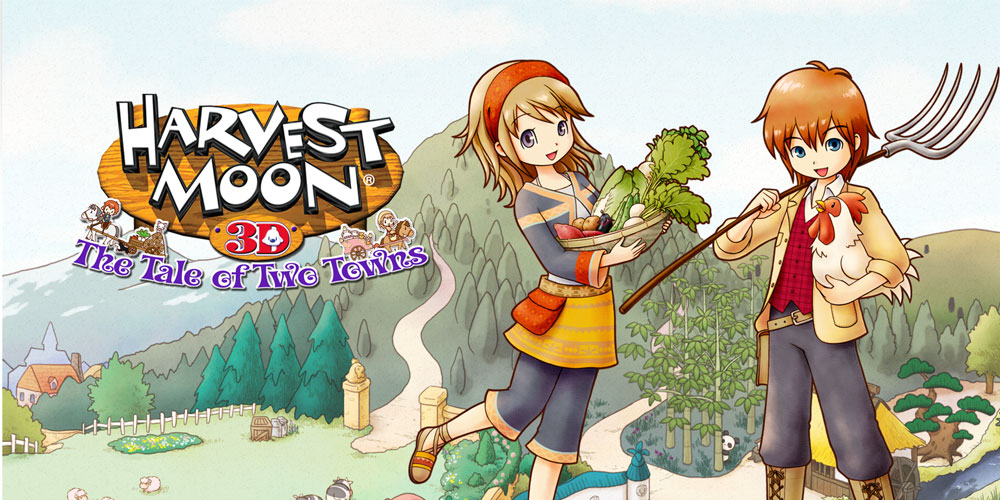Harvest Moon The Tale Of Two Towns Nintendo 3DS Games Nintendo