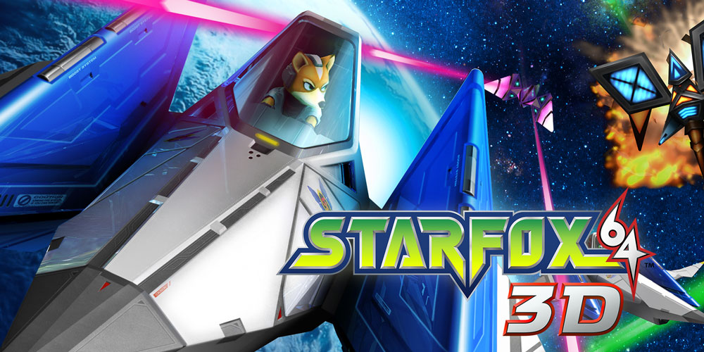 Star Fox 64 3D Nintendo 3DS Games Nintendo
