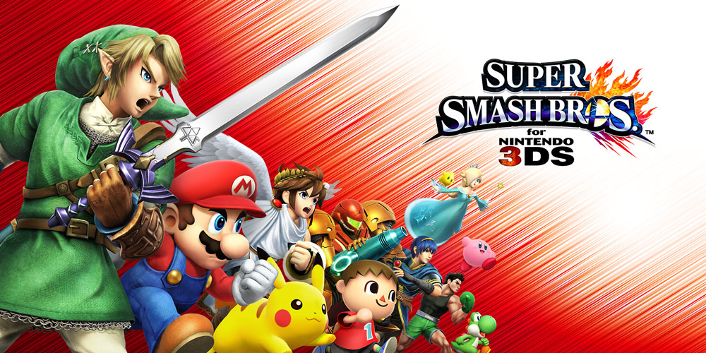 Super Smash Bros For Nintendo 3DS Nintendo 3DS Games