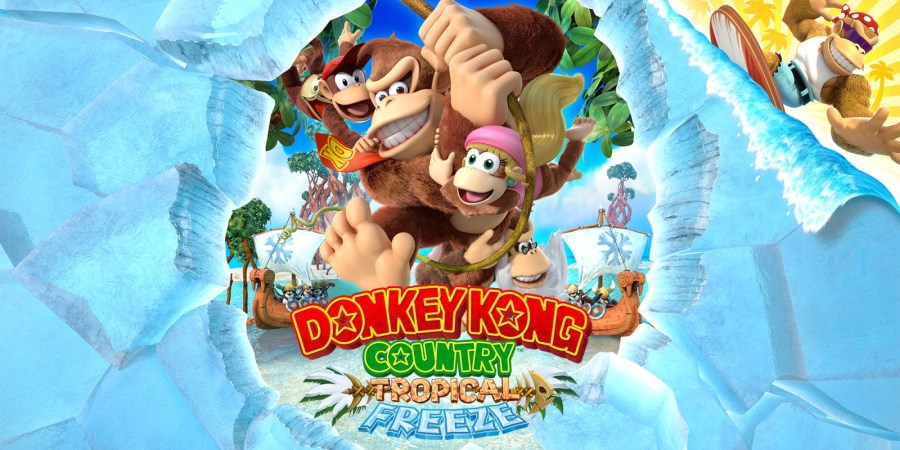 Image result for Donkey Kong Country: Tropical Freeze nintendo.com