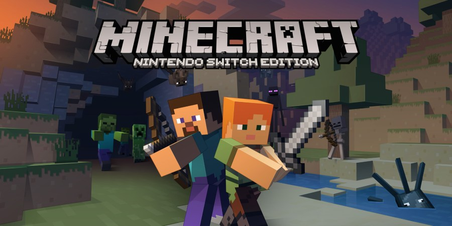 Image result for minecraft nintendo switch edition