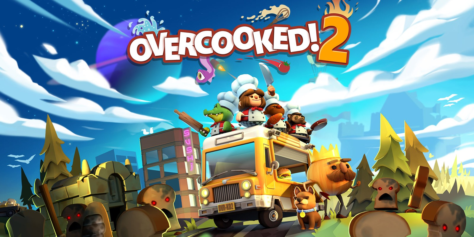 Overcooked 2 Nintendo Switch Games Nintendo