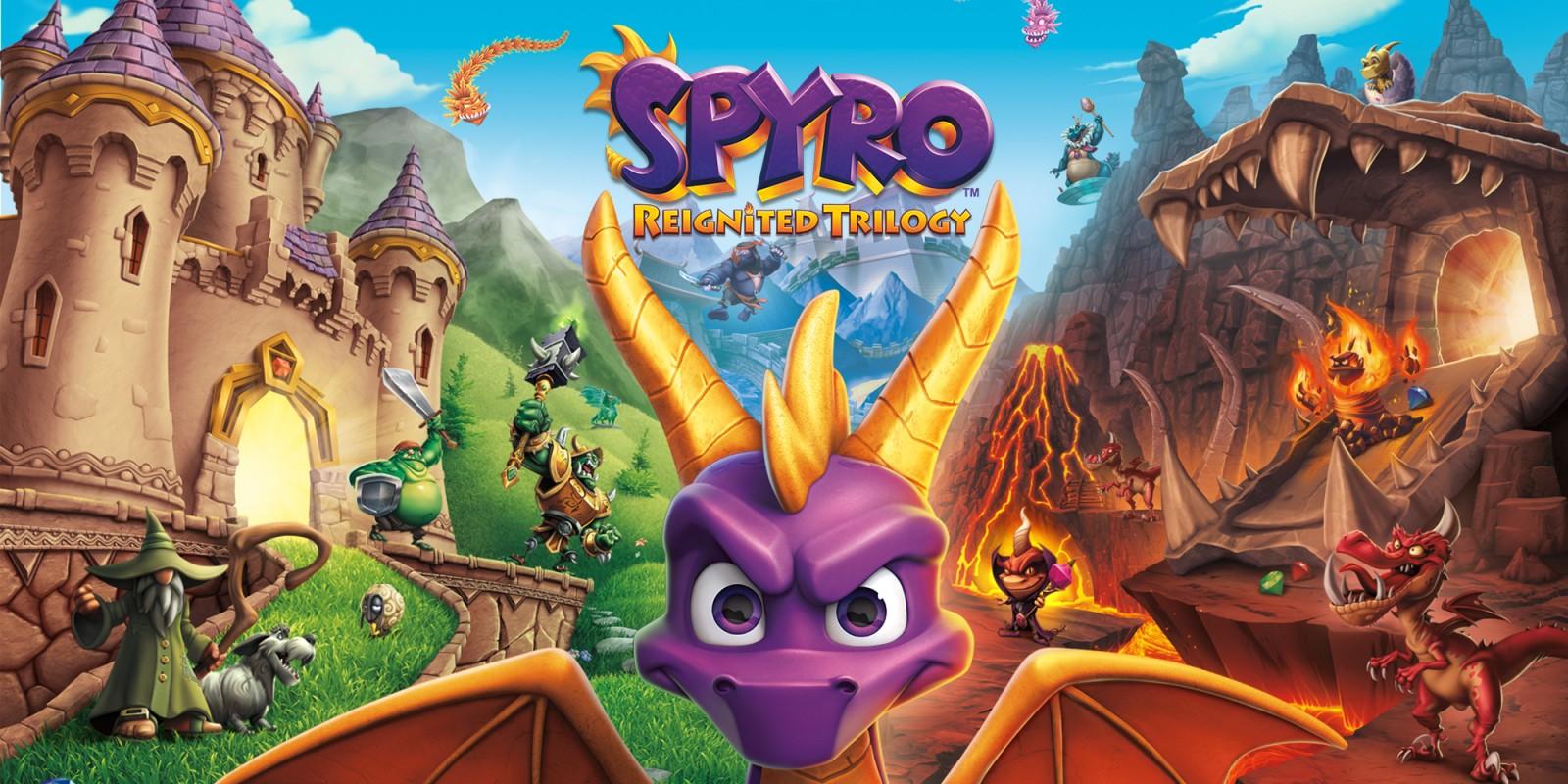 Spyro Reignited Trilogy Nintendo Switch Games Nintendo