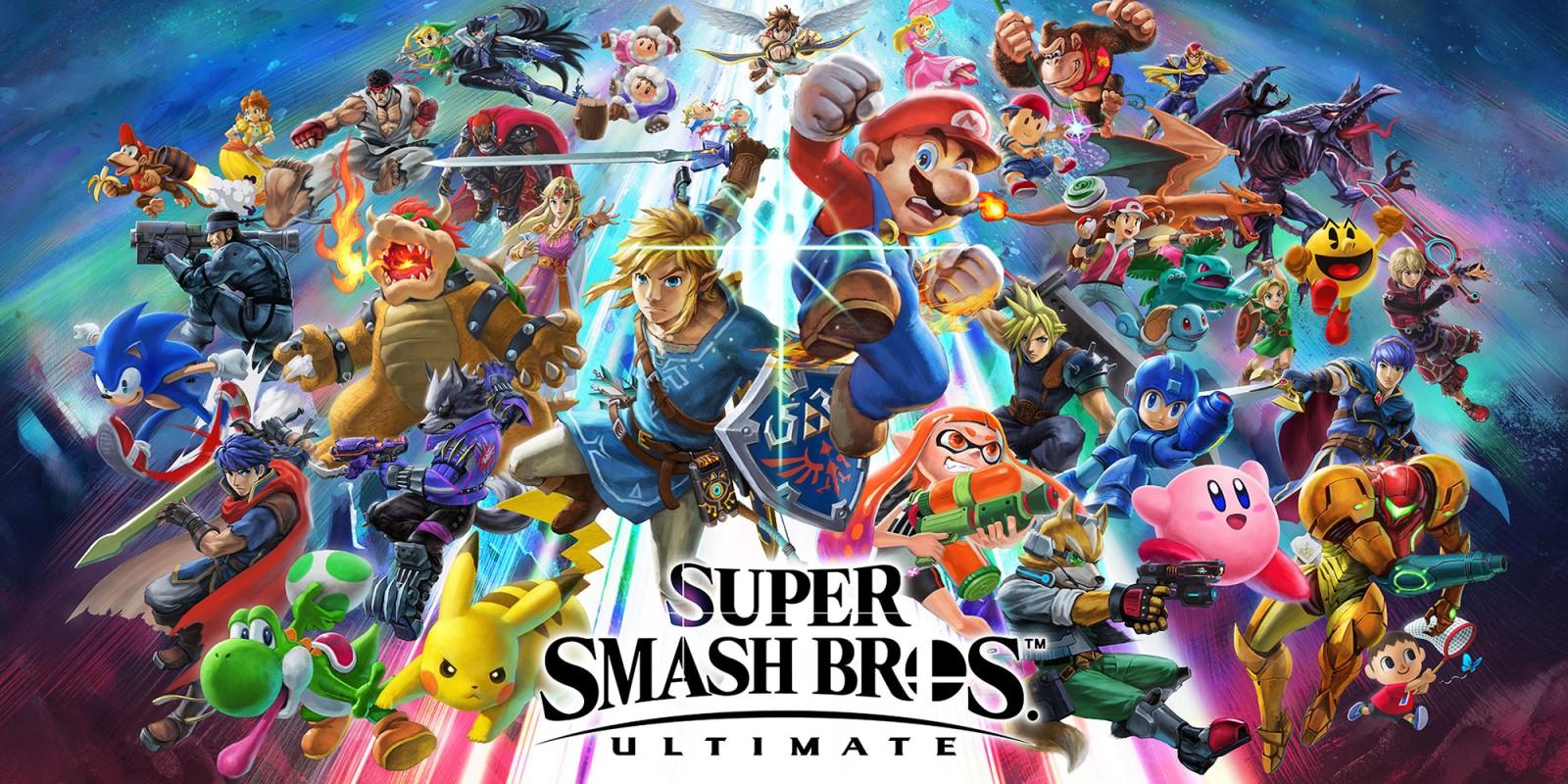 Super Smash Bros Ultimate Nintendo Switch Giochi