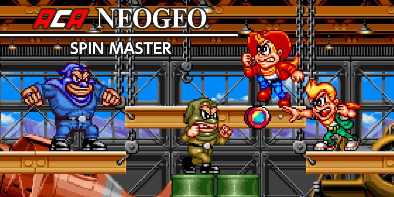ACA NEOGEO SPIN MASTER Nintendo Switch Download Software Games Nintendo