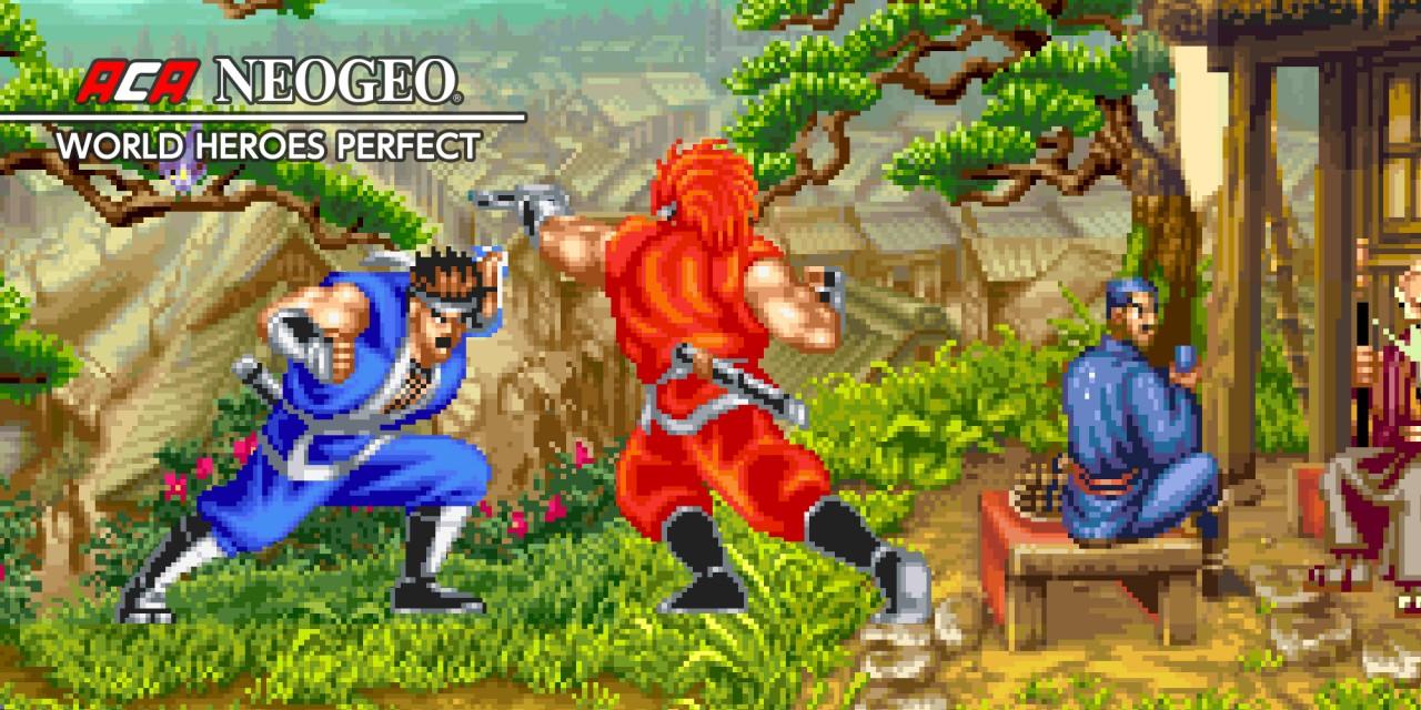 ACA NEOGEO WORLD HEROES PERFECT Nintendo Switch Download Software Games Nintendo