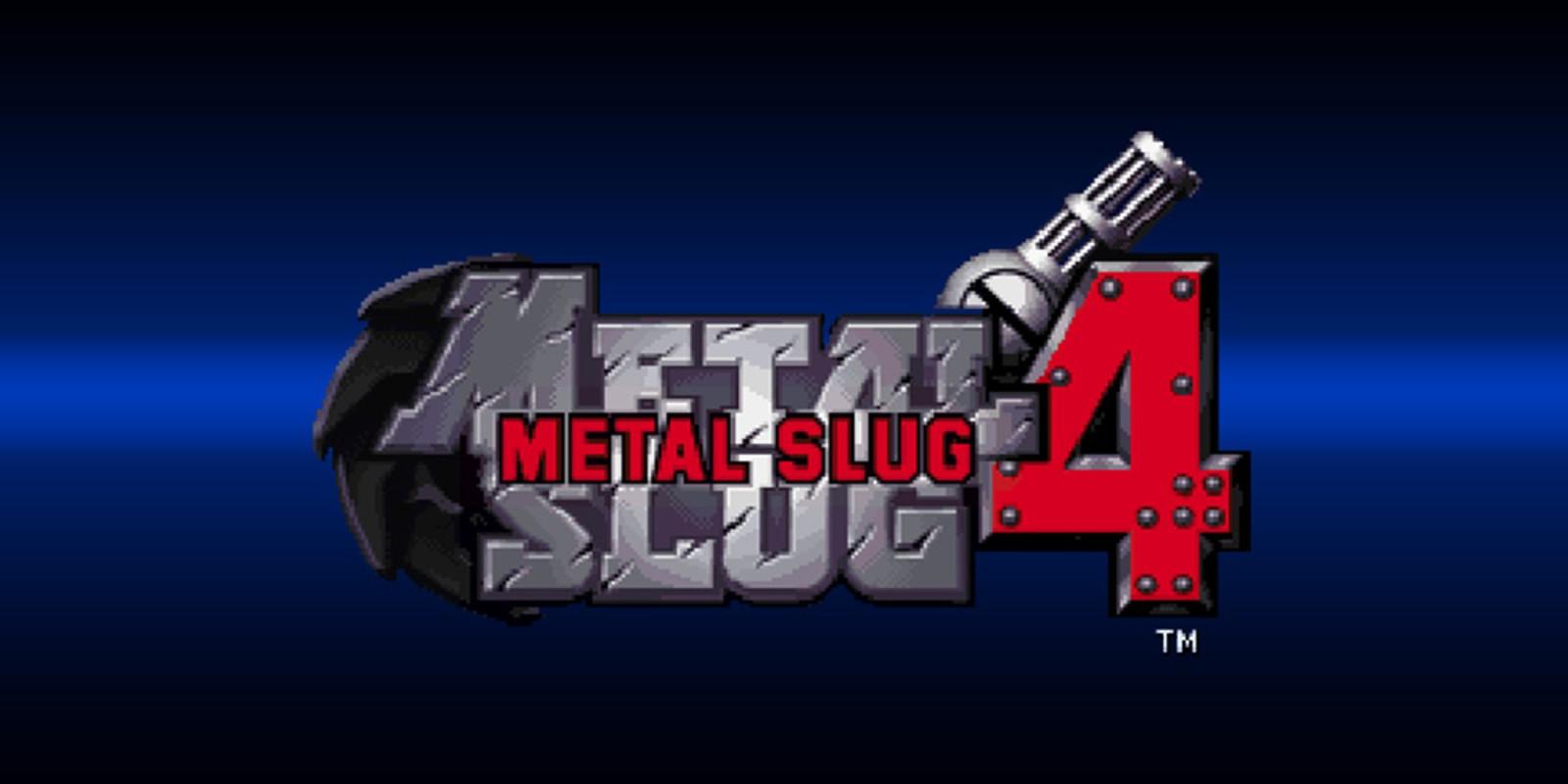 Metal Slug 4 Neogeo Games Nintendo