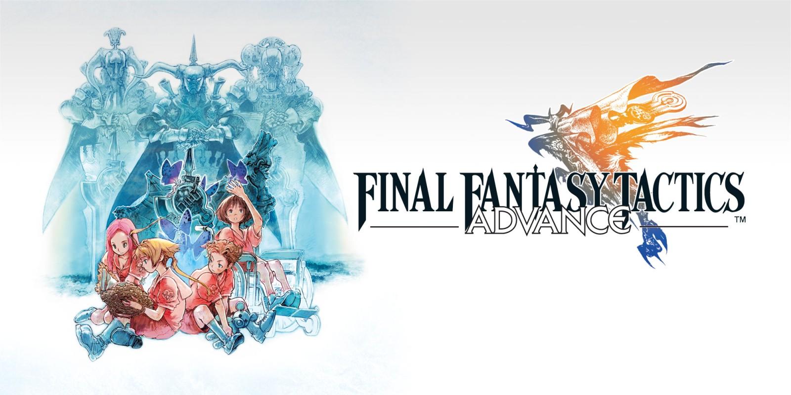 Final Fantasy Tactics Advance Game Boy Advance Games