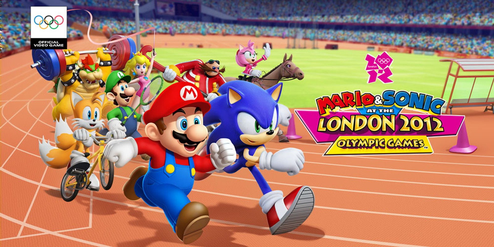 Mario   Sonic at the London 2012 Olympic Games         Wii   Games   Nintendo Mario   Sonic at the London 2012 Olympic Games