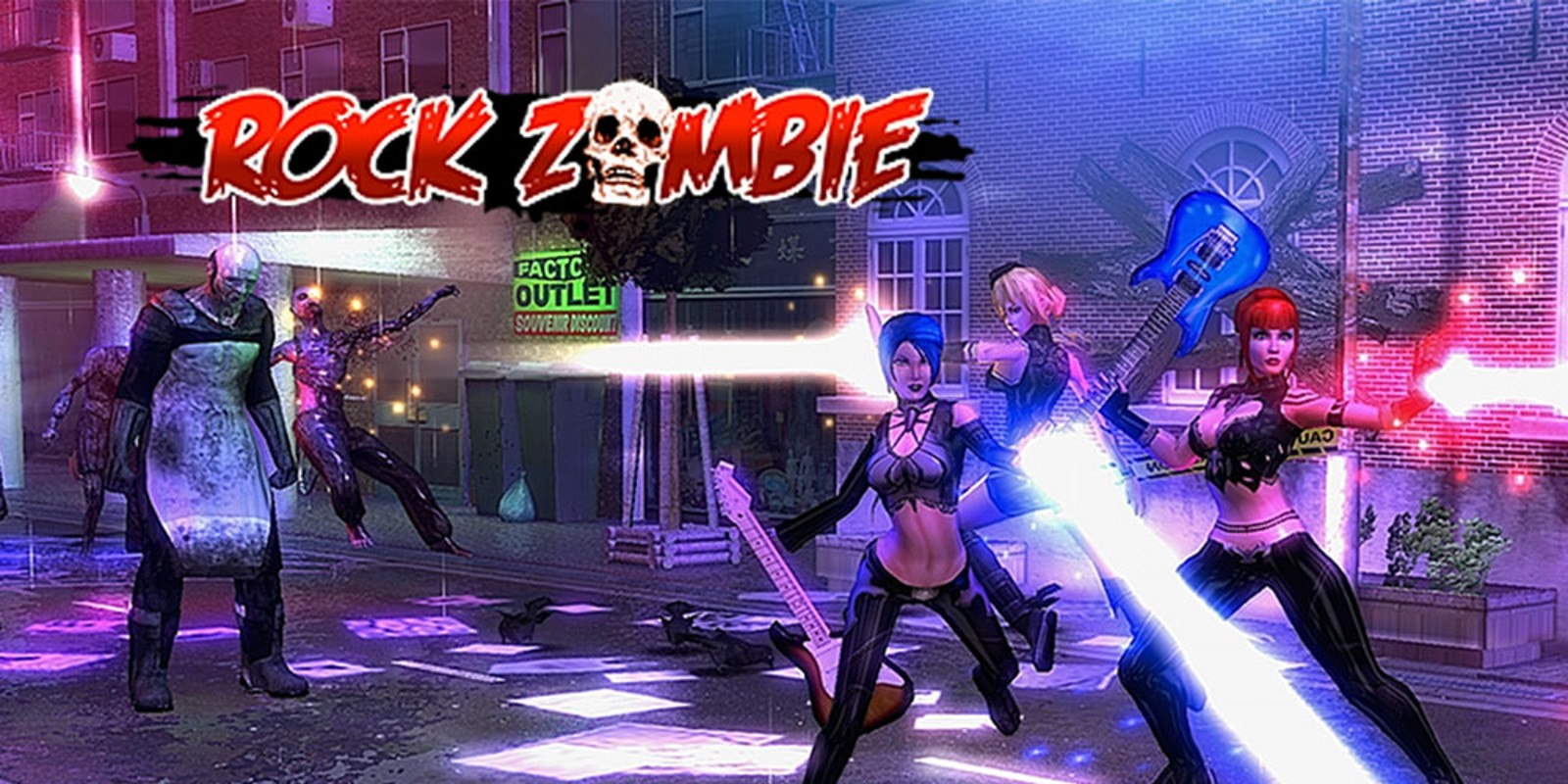Rock Zombie Wii U Download Software Games Nintendo