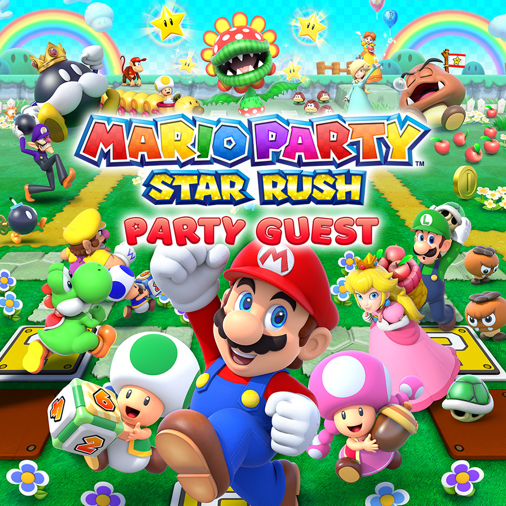 Mario Party Star Rush Party Guest Nintendo 3DS
