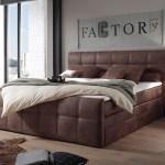 Bett Amarillo Braun 180x200 Cm Mit Matratze Und Topper Boxspringbett Moderne Einrichtungsideen Gunstig Bei Mobel Modern