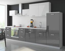 Küche Color 340 cm Küchenzeile Küchenblock Einbauküche in ...