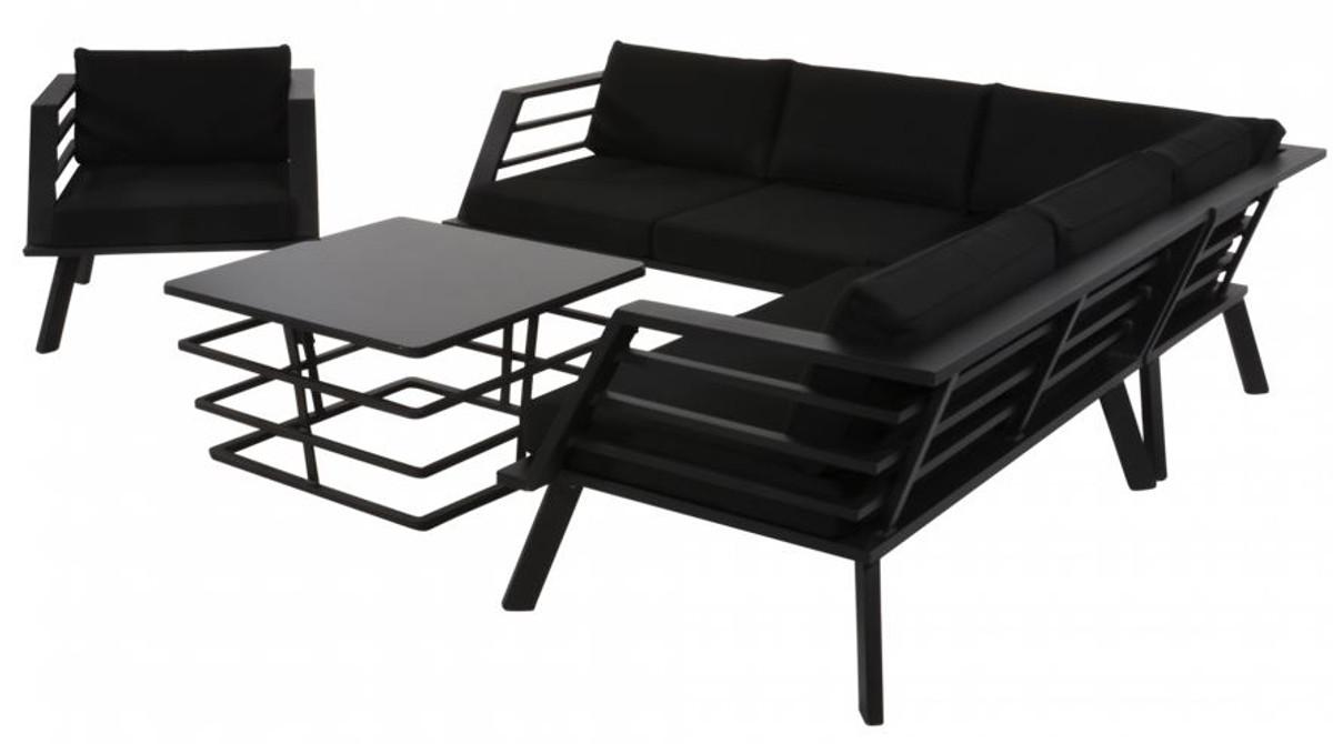 casa padrino meubles de jardin avec sellerie fauteuil table ensemble de salon