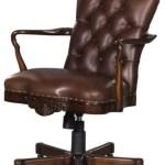 Casa Padrino Luxury Genuine Leather Office Chair Swivel Chair Brown 63 X 68 X H 102 Cm Luxury Office Furniture
