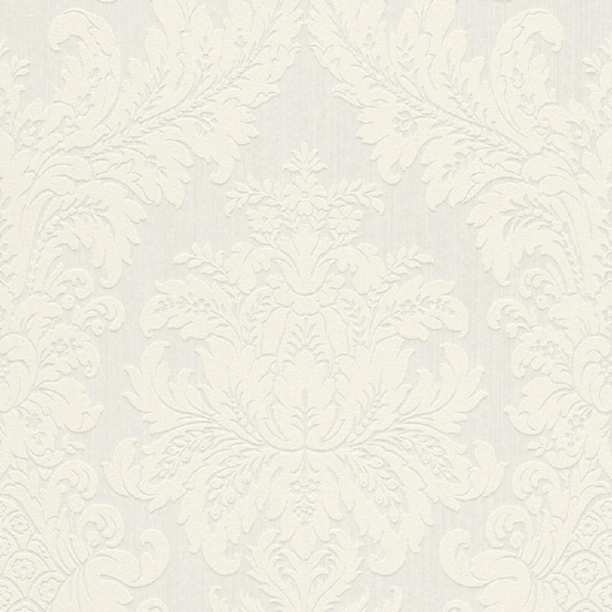 Carta da parati elegante soggiorno di lusso contemporaneo con camino bianco ✓ installazione semplice ✓ 365 giorni per il reso ✓ guarda. Casa Padrino Carta Da Parati Tessile Barocco Bianco 10 05 X 0 53 M Carta Da Parati Di Lusso Per Soggiorno Casa Padrino De