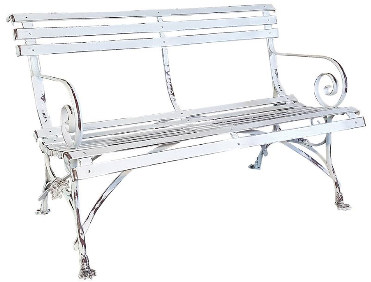 casa padrino art nouveau garden bench 120 cm different colors handmade wrought iron bench garden furniture