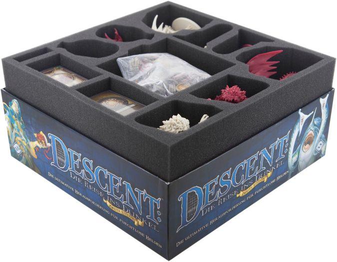 Feldherr foam set for Descent: Journeys in the Dark 2nd Edition - core game box