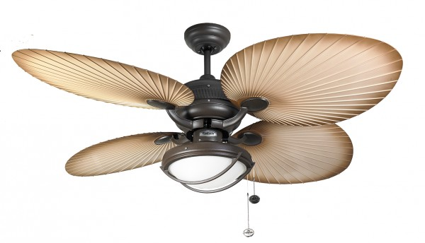 outdoor ceiling fan palm patio 132cm 52 with light home commercial heaters ventilation ceiling fans uk