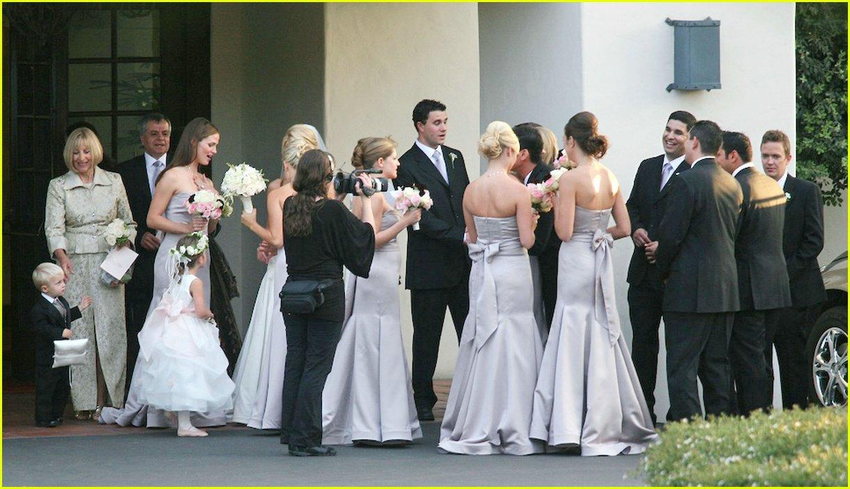 Image result for ben affleck and jennifer garner wedding photos
