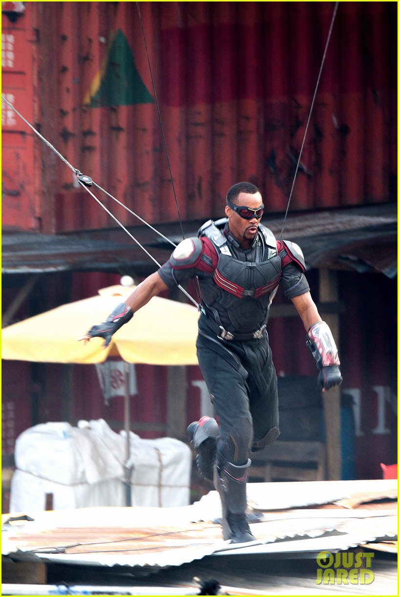 Captain America: Civil War Set Photos & Videos 68