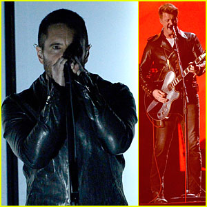 Nine Inch Nails & Queens of the Stone Age Perform at Grammys 2014 (Video)!
