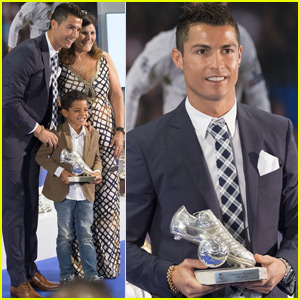 Cristiano Ronaldo Honored For Becoming Real Madrid's All-Time Leading Scorer