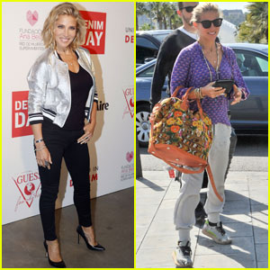 Elsa Pataky Emerges After Getting Matching Tat With Miley Cyrus