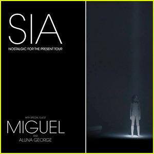Sia Announces 2016 Tour Dates with Miguel & AlunaGeorge