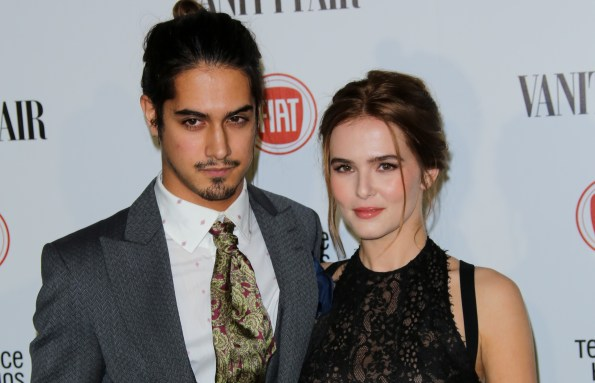 Image result for zoey deutch and Evan