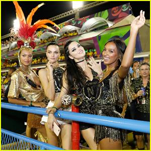 Adriana Lima, Lais Ribeiro & Jasmine Tookes Celebrate Carnaval During Vaca in Rio!