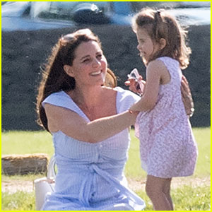 Duchess Kate Middleton's Mom Skills Observed By Onlooker at Polo Field