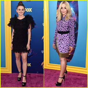 Joey King & Sabrina Carpenter Look So Pretty at Teen Choice Awards 2018!