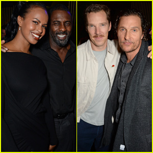 Idris Elba Hosts The Parrot Grand Opening With Matthew McConaughey & Benedict Cumberbatch
