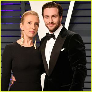 Aaron & Sam Taylor-Johnson Couple Up for Vanity Fair's Oscar Party!