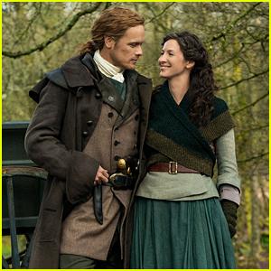 'Outlander' Season 5 First Look Photo Features Sam Heughan & Caitriona Balfe!