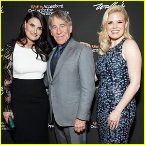 'Wicked' Stars Idina Menzel & Megan Hilty Reunite to Honor the Show's Composer!