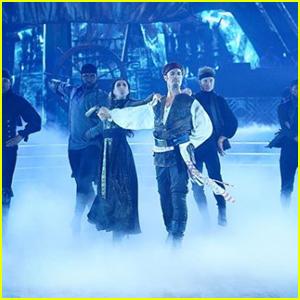 James Van Der Beek Becomes Jack Sparrow During 'DWTS' Disney Night - Watch Now!