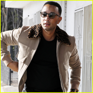 John Legend Steps Out After Being Named People's Sexiest Man Alive!